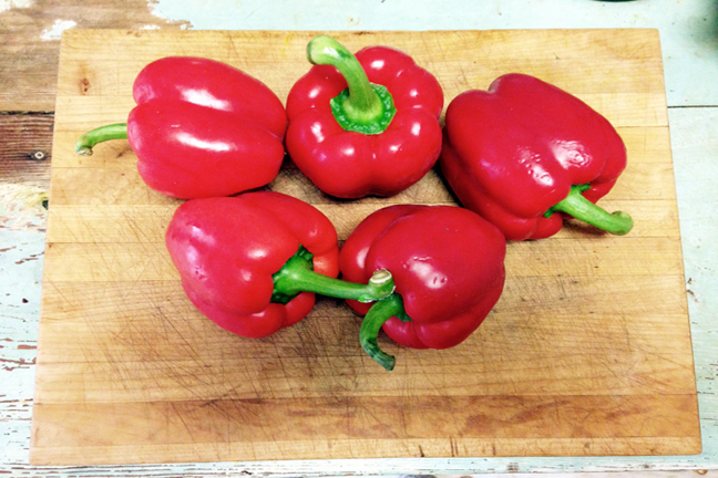 Whole Bell Peppers